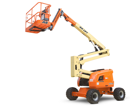 450AJ boom lift for rent in Wisconsin
