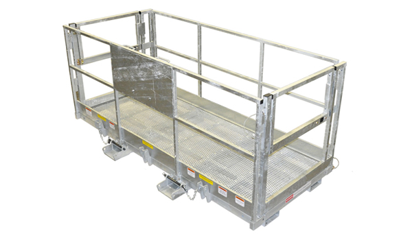 MWPG 4X116 Galvanized Work Platform (Fork Mounted)