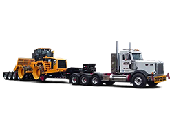 Freight rental for construction equipment in Wisconsin