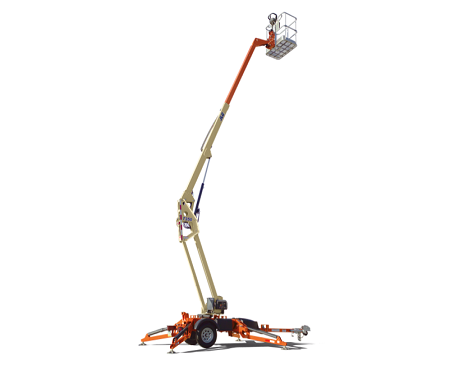T350 towable boom lift for rent in Wisconsin