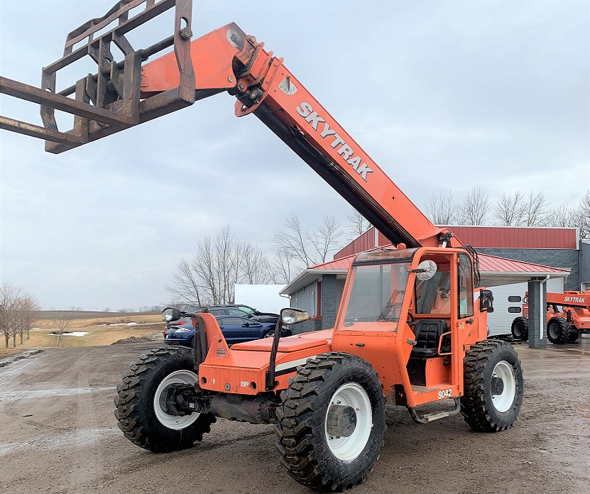 2008 Skytrak Telehandler Model 8042 for Sale