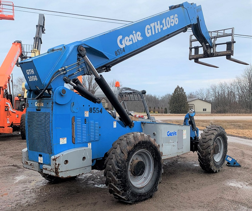 GTH-1056 Genie Telehandler for sale in Wisconsin