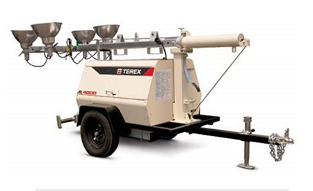 Terex AL 4000 Light Tower Rental Wisconsin
