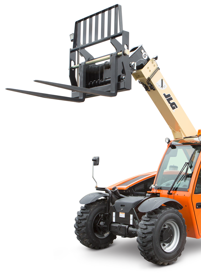 Buy new or used telehandlers from SkyTrak or JLG